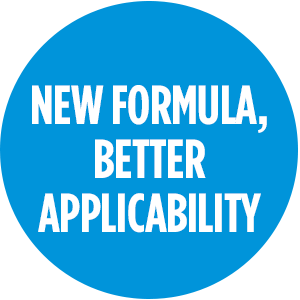 New formula, better applicability